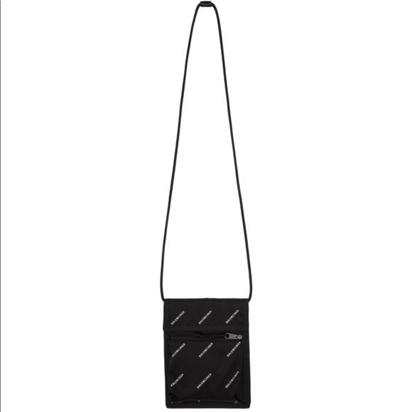 a63107d8b2d Balenciaga Bags   Allover Logo Explorer Pouch   Poshmark